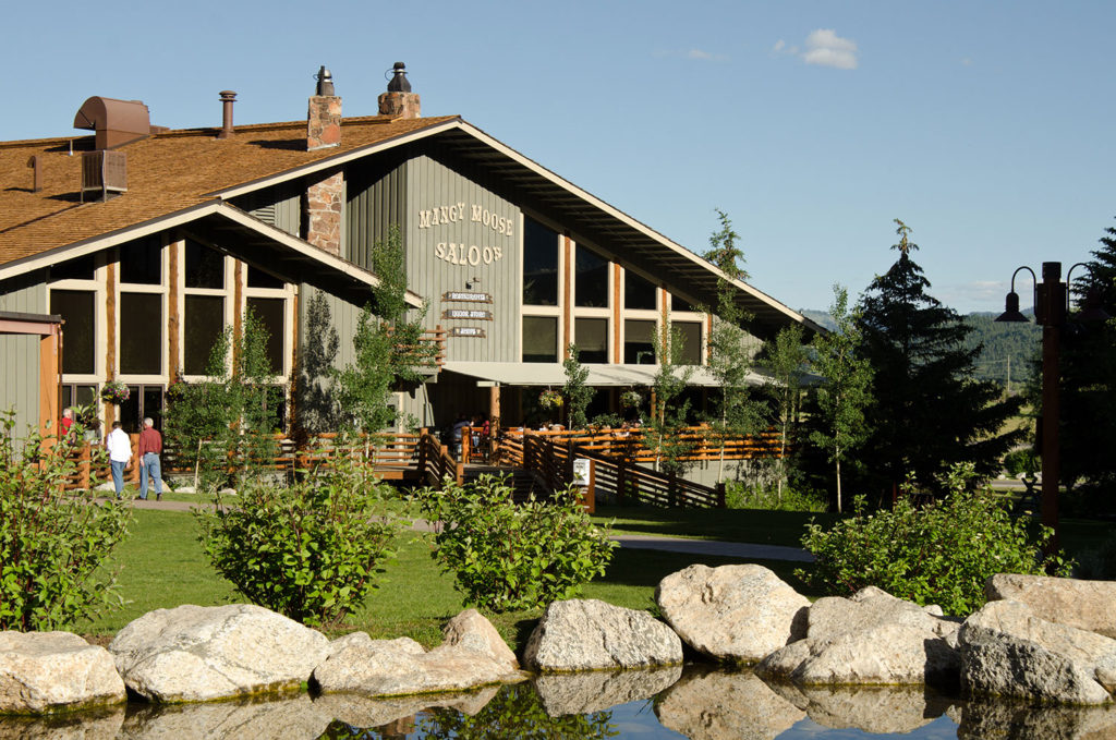 Mangy Moose - Jackson Hole Restaurants