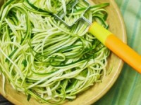 Zucchini Pasta, Recipe, Dining Jackson Hole, The Daily Dish, Recipe from the Daily Dish, Dishing Jackson Hole
