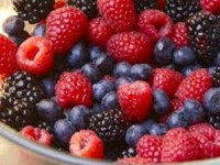 Dishing Jackson Hole, Berries, Berry Topping, Ice Cream, Kim Wiess, Creative Kitchen, Vom Fass
