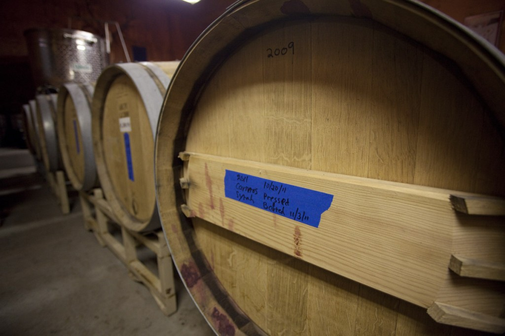 Jackson Hole Winery's next lots of wine