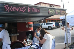 Check out the Rosewood Kitchen every Saturday at the Jackson Hole Farmer's Market