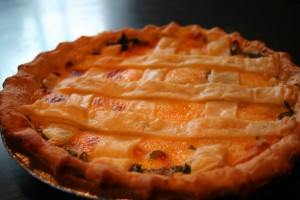 Baking Soda's Tomato Pie