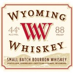 The Wyoming Whiskey label