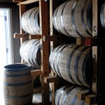 Barrels of Wyoming Whiskey. Photo by J.D. Stetson of the Thermopolis Independent Record