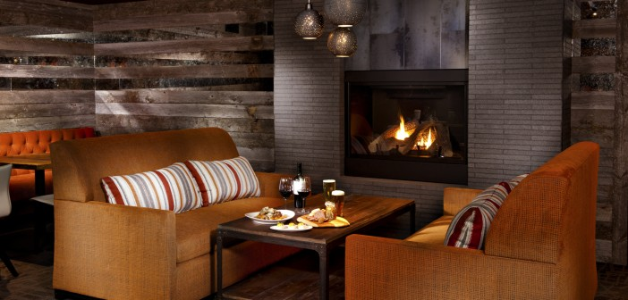 Spur features modern yet rustic accents for a cozy, comfortable vibe