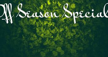 Off-Season-Specials