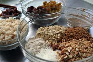 Energy Bar ingredients