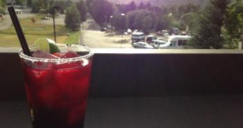 Enjoying a drink at Hayden's Post