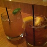 Cocchi Float and Old Fashioned at the Kitchen