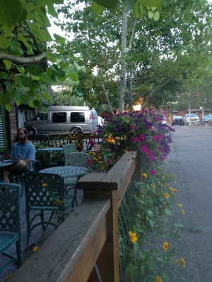 One of Nani's two awesome patios