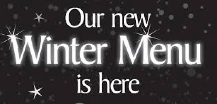 New Winter Menus