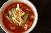 Find a variety of lunch options, like this posole, from Bodega.