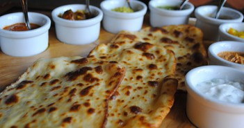 disney naan bread and sauces