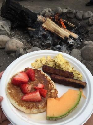 campfire pancake