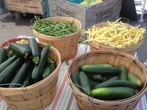 Some of the offerings at the Original Jackson Hole Farmers Market