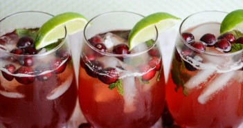cranberry holiday drink
