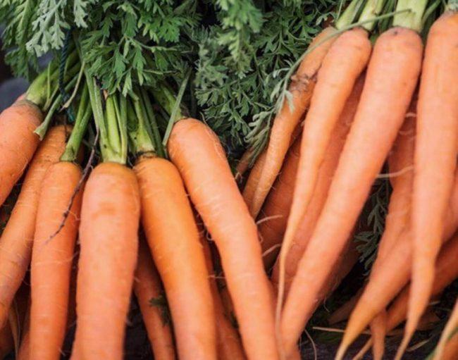 Q Roadhouse Farmers Market Carrots