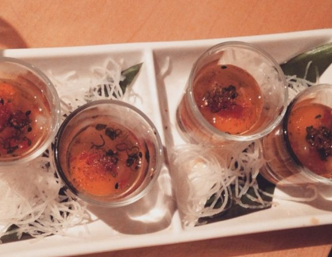 King Sushi Scallop Shooter