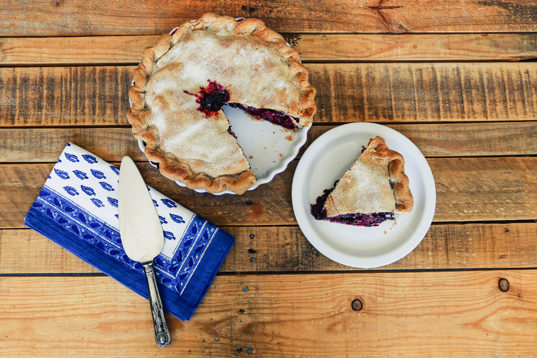 The Bunnery's Very Berry Pie