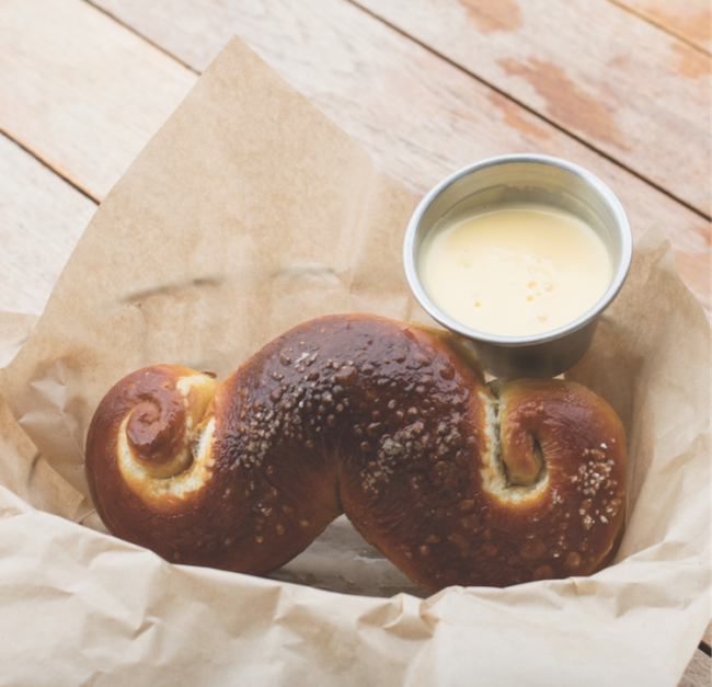 Handle Bar Pretzel