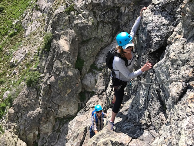 Via Ferrata at Jackson Hole