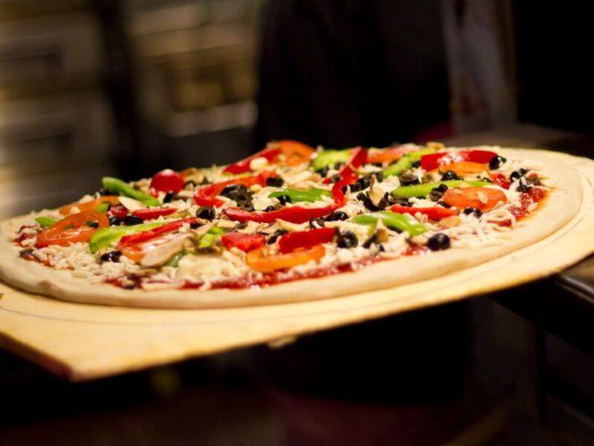 pinky g's veggie pizza
