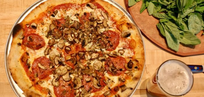 Hand Fire Pizza Open in Old Teton Theatre