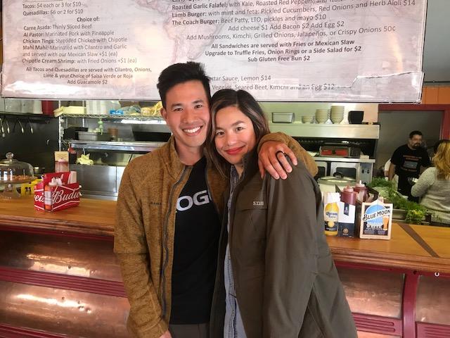 Eric and Zarina Sakai