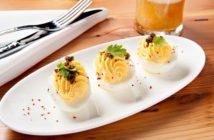 spur deviled eggs