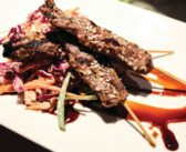 Ask For It: Trio's Buffalo Skewers