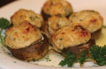 blue lion stuffed mushrooms