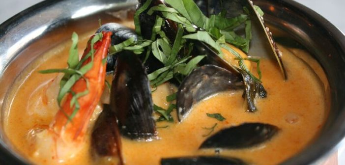 teton tiger curried mussels