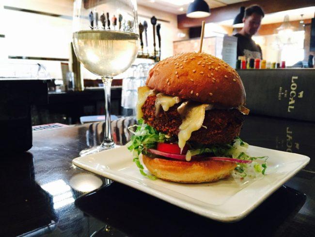 local veggie burger