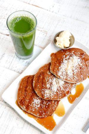 lotus pancakes