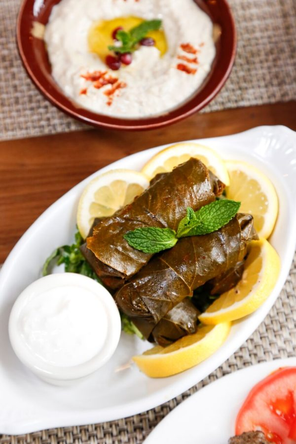 FIGS grape leaves
