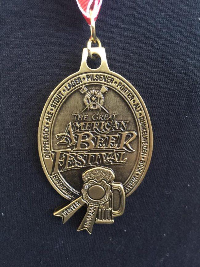 melvin gabf medal