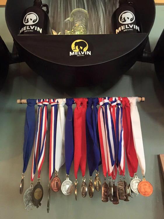 melvin medals