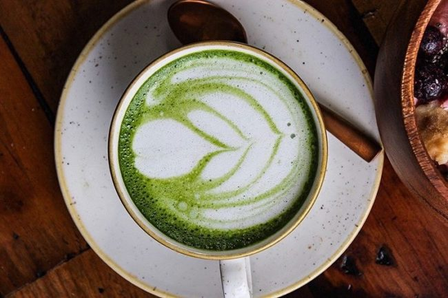 cultivate cafe matcha