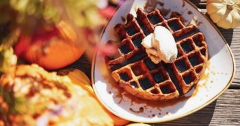 Cultivate Cafe waffels